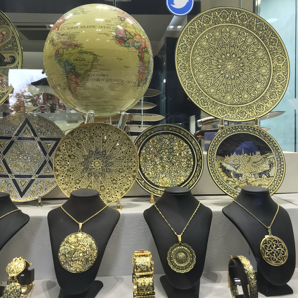 Goldschmiedearbeiten aus Toledo