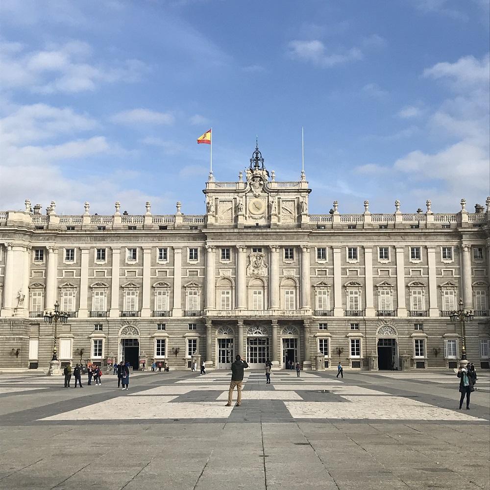 Königspalast Madrid