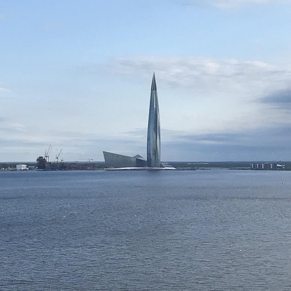 Lakhta Center (das höchste Gebäude Europas)